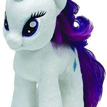 "Rarity Ty My Little Pony 8"" Plush MLP"