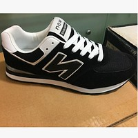 New balance new n word shoes casual shoes running shoes Black