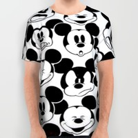 MICKEY MOUSE All Over Print Shirt by Acus