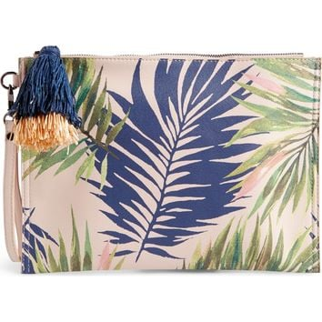 Sole Society Panoma Print Pouch | Nordstrom