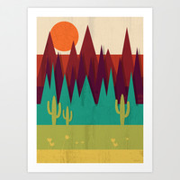 Arizona Art Print by Kakel