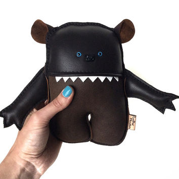 Monster Plush, Baby Bear, Stuffed Animal, Teddy Toy Great Gift ideas, for her, him, and kids Worry Doll Extraordinaire