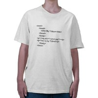 html T-Shirt from Zazzle.com