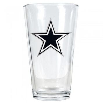 Dallas Cowboys Beer Glass (Engravable)