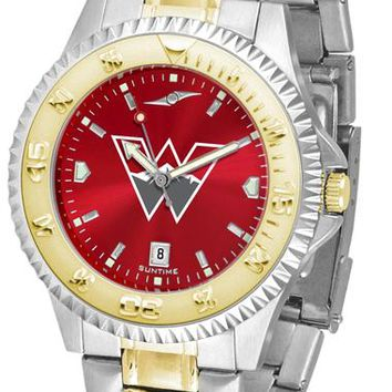 Western State Colorado University Mountaineers Competitor Two-Tone AnoChrome Watch