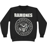 Ramones Men's  Classic Seal Sweatshirt Black