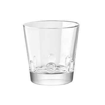 Majestic Gifts E65225-S6 Quality Glass Stackable Old Fashioned Tumbler 10 oz. Set of 6