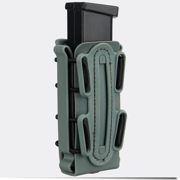 TMC 9mm Molle Pistol Mag Military Magazine Pouch  Holster Fastmag Belt Clip 2779