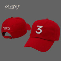 red Drake cap chance the rapper hat youth Baseball Cap Hip Hop hat Snapback Flat Adjustable dad hats men woman polo cap b006