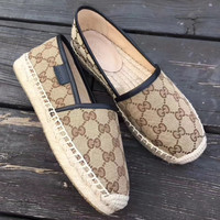 shosouvenir gucci Cloth fisherman shoes