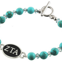 Zeta Tau Alpha Sorority Jewelry and Turquoise by CollegeJewelry