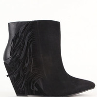 Qupid Maddox Fringe Booties at PacSun.com