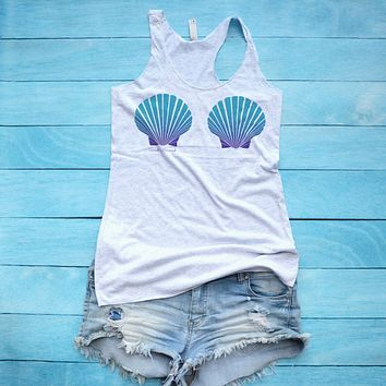 e4054ca2f0df Best Mermaid Shell Top Products on Wanelo