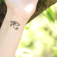 Eye of Horus Egyptian Temporary Tattoo