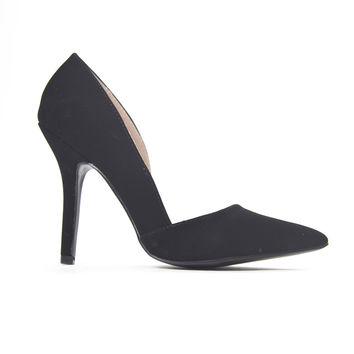Business Point Heels In Black