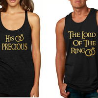 Couple Tank Top His Precious The Lord Love Engagement Tops