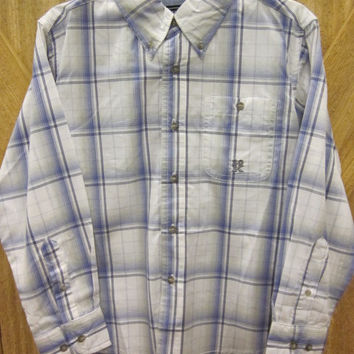 Wrangler 20X Youth Shirts - Boys Button-Down Long Sleeve Shirt - Plaid, Check