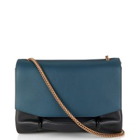 Le Marché bi-colour leather shoulder bag | Nina Ricci | MATCHESFASHION.COM US