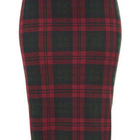 MULTI CHECK TUBE SKIRT
