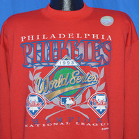 90s Philadelphia Phillies 1993 World Series Sweatshirt Extra Large