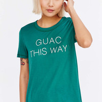 Truly Madly Deeply Guac This Way Tee - Urban Outfitters