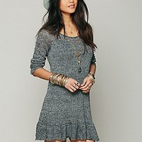 Free People  Ruffle Your Hem Tunic at Free People Clothing Boutique