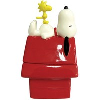Westland Giftware Peanuts Magnetic Dog House and Snoopy Salt and Pepper Shaker Set, 4-1/2-Inch