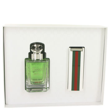 Gucci Pour Homme Sport by Gucci-Gift Set -- 3 oz Eau De Toilette Spray + 1 oz Eau De Toilette Spray