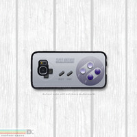 SNES, Super Nintendo Controller, Custom Phone Case for Galaxy S4, S5, S6