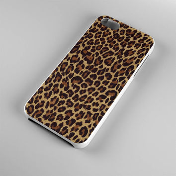 DS284-iPhone Case - Iphone 5 case-Iphone 5s case - Iphone 4 case - Iphone 4s case - Iphone Cover -Animal Print Leopard iPhone Case
