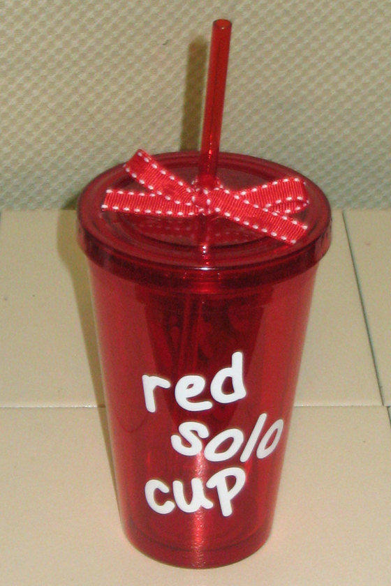 Red Solo Tumbler from SoutherlyCreations