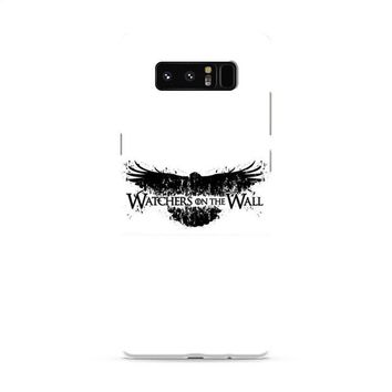 Game Of Thrones Watchers On The Wall Typo Samsung Galaxy Note 8 Case