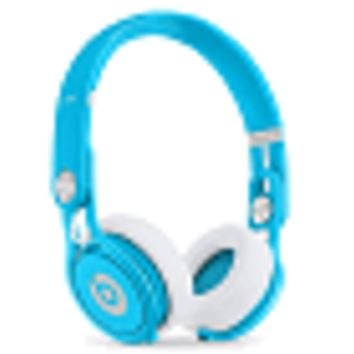 Beats by Dr. Dre Mixr Over-The-Ear High Definition Performance Stereo Headphones w/Inline Remote & Mic (Neon Blue) - B