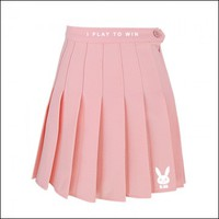 D.Va Bunny Pleated Skirt