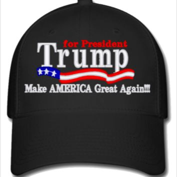 8797cf8888 Trump for president 2016 - Flexfit from teesgames