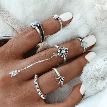 Crystal Chic RingSet
