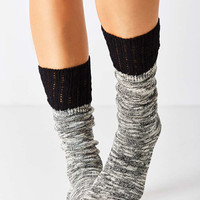 Crochet Cuff Slouchy Sock - Urban Outfitters