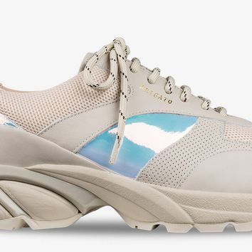 AXEL ARIGATO - Tech Runner Beige Leather