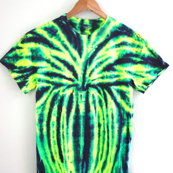 Rainforest Tie-Dye Unisex Tee