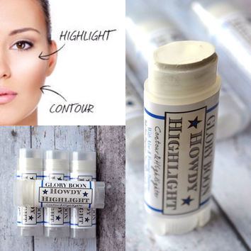 Howdy Highlighter, healthy contour makeup and cover up, mineral makeup, paraben free, talc free, bath and beauty