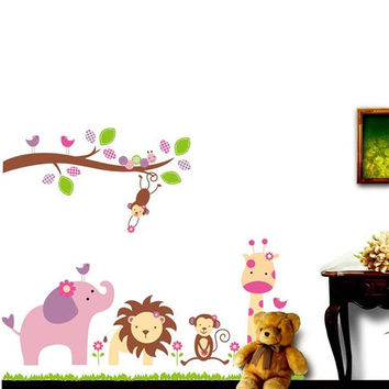Children Toddler Decoration Cartoons Home Accessory Wall Sticker [6034244417]