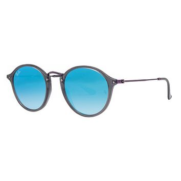 Cheap Ray Ban RB2447 Round Flash Unisex Sunglasses