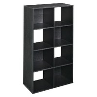 ClosetMaid 8-Cube Organizer - Black Ash