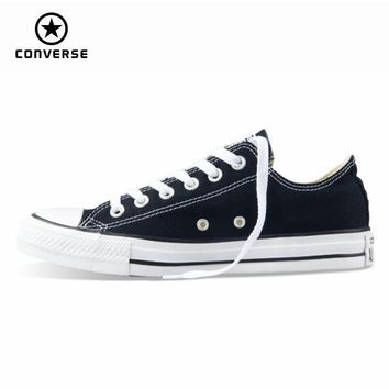 Original new Converse all star canvas shoes men's sneakers for men low classic Skatebo