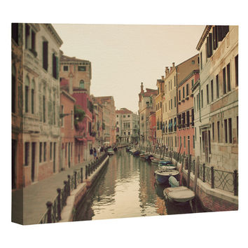 Happee Monkee Venice Waterways Art Canvas