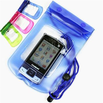 Waterproof Bag case For 6 plus Mobile Phones Underwater Pouch Case For iphone For samsung galaxy s3/s4/s5/s6/s7 for wallet key