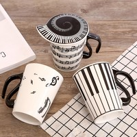 Creative Music Notes coffee cup