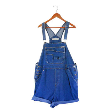 Plus Size Overall 2X Woman Plus Size Clothing Women Overall Denim Overall Shorts Denim Shortall Salopette Dungarees 90s Overall Over All Bib