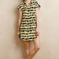 Girls To The Front Shirtdress by WHIT Yellow