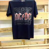 Vintage Concert Tee- ACDC World Tour